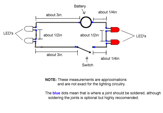 5)Now Test Make Sure The LEDu0027s Work Before You Go Any Further. If The LEDu0027s  Do Not Light Up, The Problem Could Be One Of The Following Things: